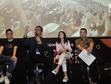 Bersama CEO KLY Steve Christian, Selebram Clarice Cutie Ramaikan XYZ Day 2018