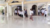 Suasana di pesantren di Cilacap. (Foto: Liputan6.com/Muhamad Ridlo)