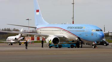Pesawat Kepresidenan Dicat Ulang Jadi Warna Merah/dok. Wikipedia