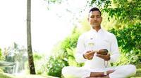 Hilangkan stres dan pikiran negatif dengan meditasi Tibetan Sound Healing (Liputan6/pool/The Heavenly Spa)
