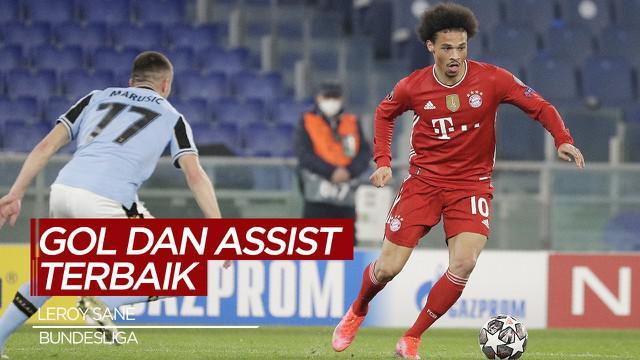 Berita Video Deretan Gol dan Assist Berkelas dari Pemain Bayern Munchen, Leroy Sane di Bundesliga Musim Ini