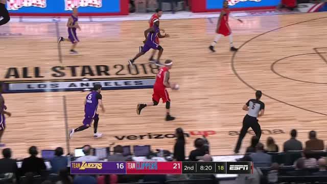 Berita video game recap NBA All Star 2018 Celebrity Game.