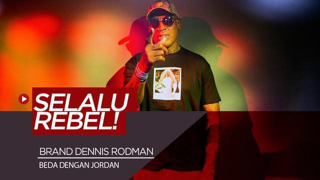 Berita video legenda basket NBA, Dennis Rodman, mengungkapkan perbedaan brand yang dibangunnya dengan mantan rekan setim di Chicago Bulls, Michael Jordan.