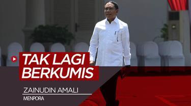 """Berita video Zainudin Amali ditunjuk sebagai Menpora (Menteri Pemuda dan Olah raga) di Kabinet Indonesia Maju. Penunjukan tersebut membuat """"tradisi"""" pria berkumis sebagai Menpora terhenti."""