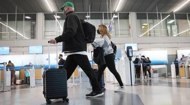 Perjalanan Udara di AS Naik ke Tingkat Tertinggi Sejak Krisis Pandemi