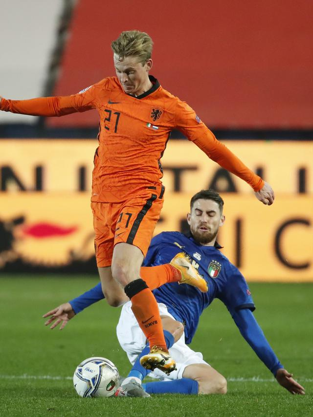 FOTO: Belanda Tahan Imbang Italia di UEFA Nations League