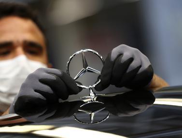 FOTO: Mengunjungi Pabrik Perakitan Mobil Mercedes-Benz di Jerman