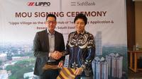 PT Lippo Karawaci Tbk umumkan kerjasama dengan perusahaan pendanaan asal Jepang, SoftBank Corp.
