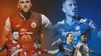 Piala Menpora - Adu Kuat Pemain Asing dan Naturalisasi Persija Jakarta Vs Persib Bandung (Bola.com/Adreanus Titus)