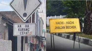 7 Potret Rambu Lalu Lintas di Indonesia Ini Malah Bikin Ngakak