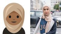 Rayouf Alhumedhi, Remaja Penggagas Emoji Hijab (sumber: instgram/@rayoufalhumedhi)