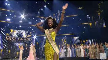 Finalis Amerika Serikat Abena Appiah Raih Gelar Miss Gramd International 2020