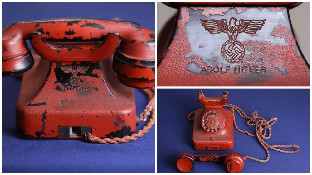Telepon Adolf HItler yang akan dilelang di AS pekan ini. (AP)