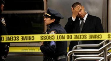 'Dorongan Maut' di Stasiun New York, 1 Penumpang Tewas
