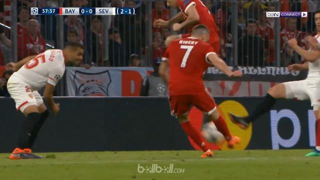 Bayern Munchen hanya bermain imbang 0-0 menghadapi Sevilla dalam lanjutan leg kedua 8 besar Liga Champions. This video is presented by Ballball.