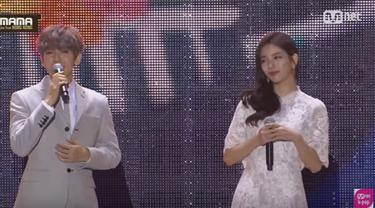 Baekhyun EXO dan Suzy Miss A