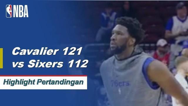 Rodney Hood memimpin Cavaliers melewati 76ers dengan 25 poin, Collin Sexton menambah 23 poin dalam kemenangan 121-112.