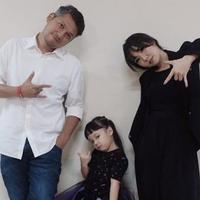 Gading Marten bersama Gisel dan Gempi (Instagram/gadiiing)