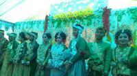 Viral pernikahan kembar empat di Bone (Fauzan/Liputan6.com)