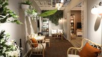 Salah satu contoh pemanfaatan teras sebagai ruang tamu. (dok. Ikea Indonesia)