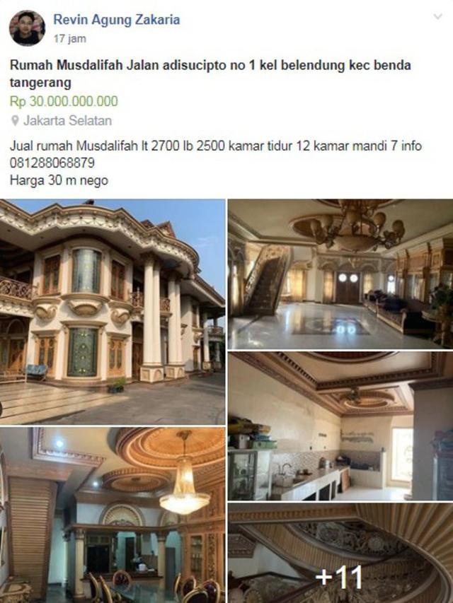 6100 Gambar Rumah Mewah Muzdalifah HD Terbaik