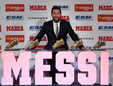 Messi Sepatu Emas