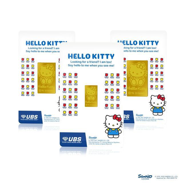 Koleksi Logam Mulia dan Perhiasan Emas Hello Kitty untuk ...