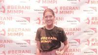 Lewat kompetisi Kampanye Berani Mimpi yang diselenggarakan oleh Wahana Visi Indonesia, Monita Tahalea sebagai peserta kini hidup lebih sehat