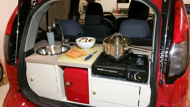 Mau Pasang Dapur Di Mobil Lihat Cara Pembuatannya Otomotif Liputan6 Com
