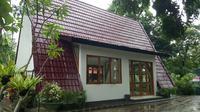 Salah satu masjid yang dibangun dengan arsitektur unik di Banyuwangi/Twitter @DKP_BWI.