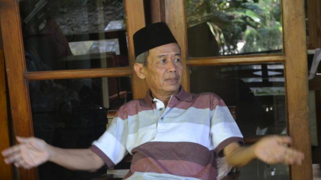 Budayawan Banyumas Ahmad Tohari Foto Liputan6comMuhamad Ridlo