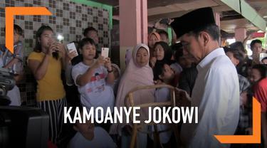 Saat kampanye di Cirebon, Jokowi berjanji akan membantu mencarikan solusi untuk kesulitan yang dialami para pengrajin rotan.