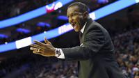 Pelatih Toronto Raptors Dwane Casey akan melatih Tim Timur pada NBA All-Star 2018. (AP Photo/Rich Schultz)