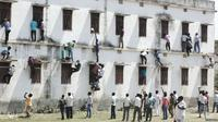 Dahsyatnya mencontek ala India (BBC/Dipankar)