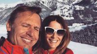 Kirsty Bertarelli dan Ernesto Bertarelli sebelum bercerai (dok.Instagram/@kirstybertarelli/https://www.instagram.com/p/BPe40iKAqjZ/Komarudin)