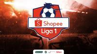 Shopee Liga 1 2020 Logo. (Bola.com/Adreanus Titus)