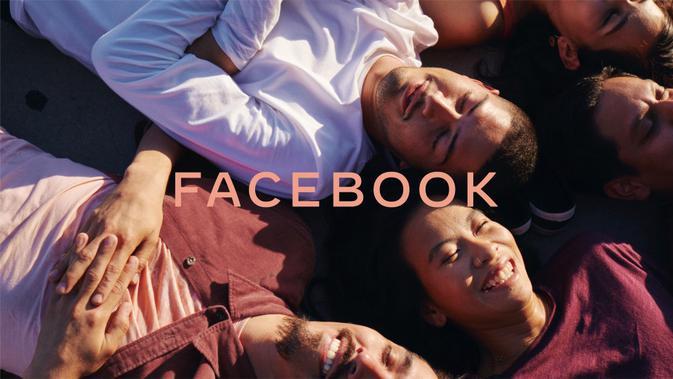 Tampilan logo baru Facebook yang telah diperkenalkan (sumber: Facebook)