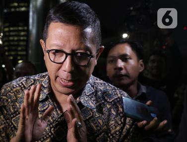 Ekspresi Mantan Menag Usai Diperiksa KPK