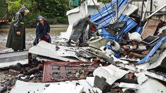 FOTO: Gempa Bumi Hantam Provinsi Sichuan China