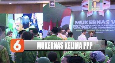 PPP menggelar Mukernas kelima di Jakarta dengan dibuka oleh Menko Polhukam Mahfud MD.