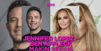 Jennifer Lopez Pindah Rumah demi Dekat dengan Ben Affleck