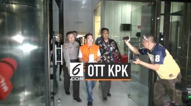 Salah seorang tersangka yang tertangkap Komisi Pemberantasan Korupsi memberikan pengakuan terkait kasus dugaan suap di lingkungan Kejati DKI Jakarta.