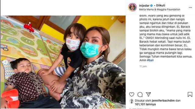 El Barack Minta Jessica Iskandar Bawa Pulang Anak dari Panti Asuhan