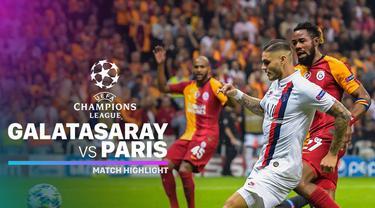 Berita video highlights Grup A Liga Champions 2019-2020 antara Galatasaray melawan PSG yang berakhir dengan skor 0-1, Selasa (1/10/2019).