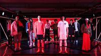 KFA merilis jersey terbaru Timnas Korea Selatan dengan apparel Nike. (Bola.com/Dok. KFA)