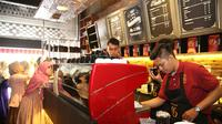 Goesar Coffee, Kalimalang, Jakarta Timur. (Bambang E. Ros/Bintang.com)