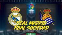 La Liga - Real Madrid Vs Real Sociedad (Bola.com/Adreanus Titus)