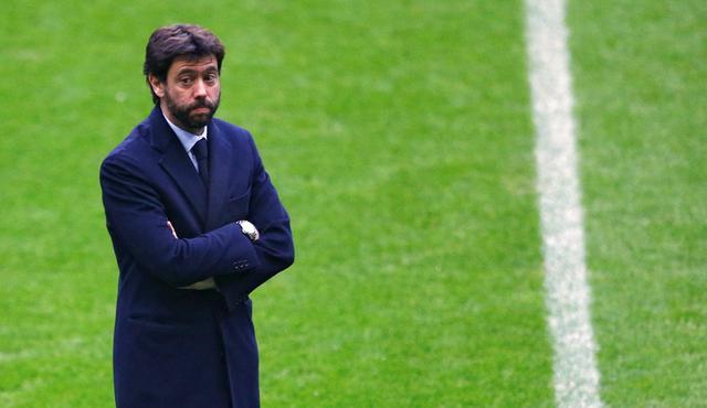 Presiden Juventus, Andrea Agnelli. (AP Photo/Matthias Schrader)