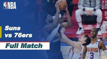 Berita video highlight NBA, Phoenix Suns Taklukan Tuan Rumah Philadelphia 76ers 116-113, Kamis (22/4/2021).