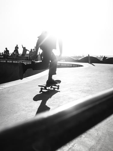 Ilustrasi skateboard